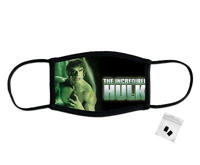 £6.99 • Buy The Incredible Hulk Classic Face Mask Protection Washable Reusable Breathable UK
