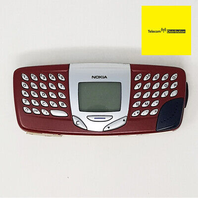 £88.76 • Buy Nokia 5510 2G - Retro Games Keyboard QWERTY- Red - Good Condition - Unlocked