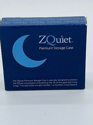 $ CDN18.19 • Buy ZQUIET Premium Storage Case For Anti-Snoring Mouthpiece (Snoring Device NOT Inc)