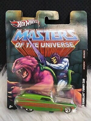 $10 • Buy Hot Wheels Masters Of The Universe 1:64 '59 Cadillac Funny Car
