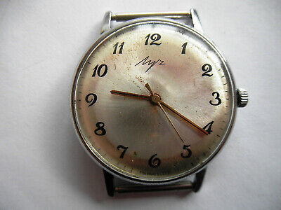 £17.71 • Buy Vintage Watch LUCH, SOVIET/USSR, RUSSIA