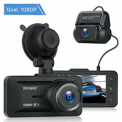 AU139.52 • Buy TOGUARD Dual Dash Cam, 1080P Front And Rear Dash Camera For Cars, 3  IPS Screen