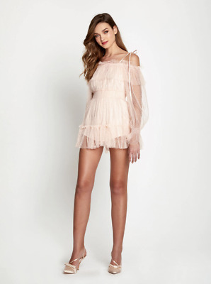 AU200 • Buy Bnwt Alice Mccall Ballet Crystal Cries Playsuit - Size 8 Au/4 Us (rrp $450)