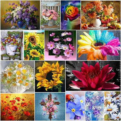 £6.39 • Buy Landscape Diamond Painting Round Drill 5D Embroidery Picture Mural Decor Gifts