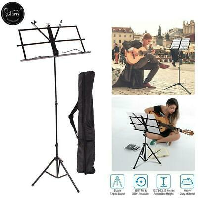 £6.85 • Buy Glarry Foldable Sheet Music Tripod Stand Portable Holder With Carry Bag