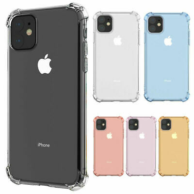 AU3.99 • Buy Shockproof Tough Soft Gel Case Cover For IPhone 12 Pro Max 11 XS XR 8 7 6+ SE 5S