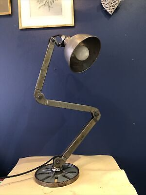 £104.99 • Buy Vintage EDL Engineers Machinists Anglepoise Lamp Industrial Factory 3 Arm