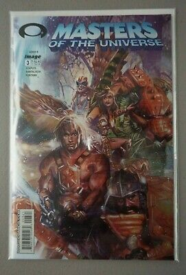 $8.59 • Buy Masters Of The Universe He-Man #3 2003 Image Holofoil Variant Cover