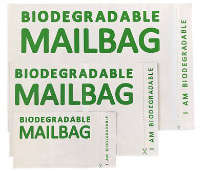 £3.99 • Buy Biodegradable Mailing Bags Parcel Postage Poly Mailer Mail Bag Sack Eco-Friendly
