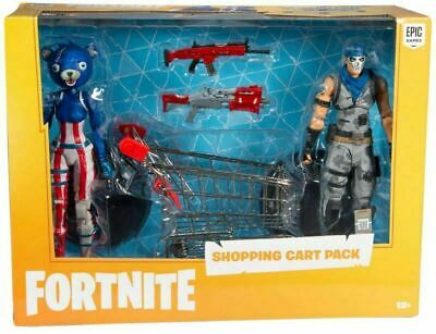 $ CDN22.21 • Buy McFarlane Toys Fortnite Action Figure Shopping Cart FIREWORKS & WARPAINT NEW