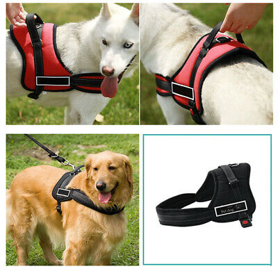 £8.39 • Buy No-pull Dog Harness Outdoor Adventure Pet Vest Padded Handle S-XL