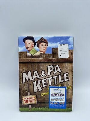 $10 • Buy Ma And Pa Kettle Full Complete Comedy Collection DVD English