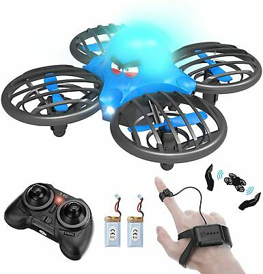 AU45.26 • Buy Mini Drone , UFO Drone Hand Operated Drone For Kids Or Adults Small RC Drone