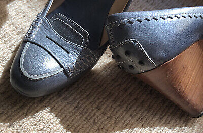 AU55 • Buy Tod's Shoes Womens Leather Wedge Sz 40 Great Condition