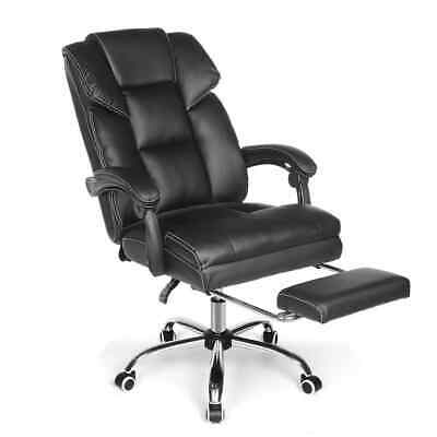 AU189 • Buy Office Chair Ergonomic Design With 150°Reclining Wide Seat Retractable Footrest