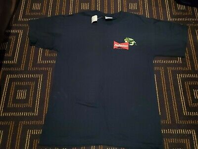 $ CDN130.69 • Buy Vintage Budweiser Frogs Stanley Desantis T Shirt  Large Made In USA Beer 90s NWT