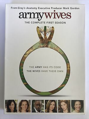 £8.38 • Buy ARMY WIVES: COMPLETE FIRST SEASON (Region 1 DVD,US Import.) Series 1