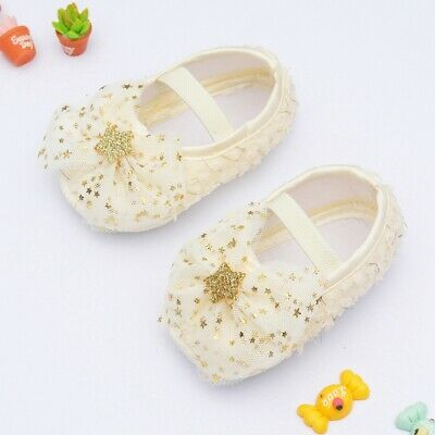 £5.99 • Buy Newborn Baby Girl Princess Shoes Bowknot Crib Shoes Soft Sole Toddler Shoes Cute