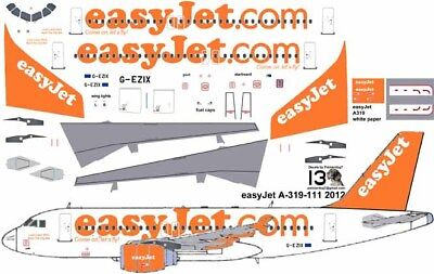 £7.10 • Buy Easy Jet Airbus A-319 Pointerdog7 Decals For Revell 1/144 Kit