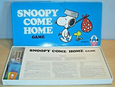 £12 • Buy SNOOPY COME HOME Game By MB / Arrow Games OLD Complete