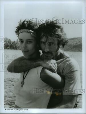 $ CDN12.15 • Buy 1991 Press Photo Rachel Ward And Hart Bochner In And The Sea Will Tell