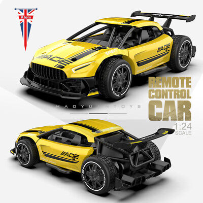 £24.99 • Buy 1:24 High Speed Electric RC Cars Radio Control 2.4G 4CH Race Car Toys Gift