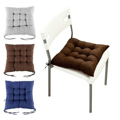 AU13.79 • Buy New Tie On Seat Pads Dining Patio Home Kitchen Office Chair Cushions