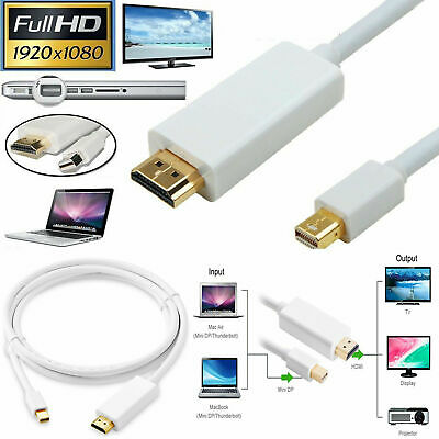 $9.32 • Buy Thunderbolt To HDMI TV Cable Adapter 3M 10FT Mini Display Port MacBook Pro IMac