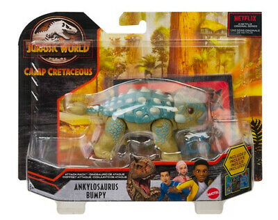 £12.99 • Buy Jurassic World Attack Pack Camp Cretaceous Dinosaur Action Figure Choose Yours!