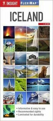 £3.49 • Buy Insight Guides Flexi Map Iceland (Insight Flexi Maps) By Guides, Insight Book