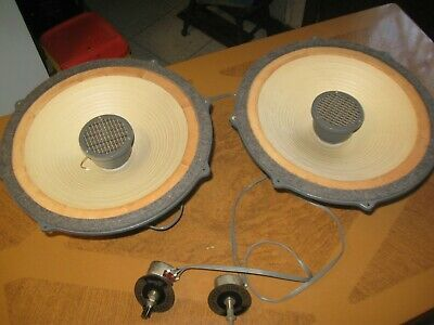 AU308.35 • Buy Vintage Pair Lafayette SK-58     8 Ohm 20 Watt Coaxial Speakers