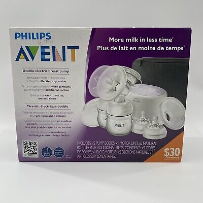 AU219.26 • Buy Philips AVENT Double Electric Comfort Breast Pump SCF334/22 New In Box, Unopened