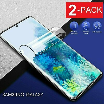 $ CDN4.35 • Buy 2Pack HYDROGEL Screen Protector Samsung Galaxy S21 S20 Fe S10 S9 S8 Plus Note 20