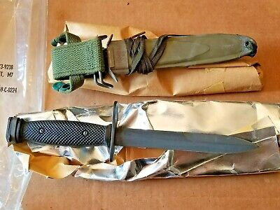 $80 • Buy BOC Imperial NOS US M7 Bayonet With M8A1 Scabbard Vietnam Era **Sealed Mint**