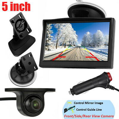 AU48.99 • Buy 5  Car Monitor With Reverse Camera Rear View Parking Kit Night Vision Waterproof
