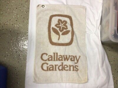 £21.24 • Buy Vintage Callaway Gardens Golf Towel Good Condition