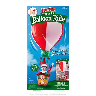 £7 • Buy Elf On The Shelf Scout Elves At Play® Peppermint Balloon Ride **Missing Box **
