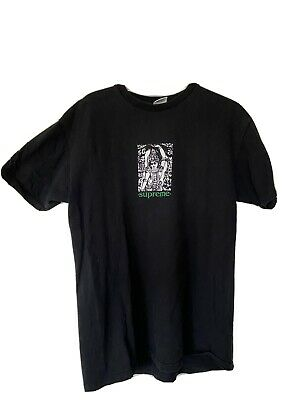 $ CDN110.76 • Buy Supreme Mantra Black T Shirt - Size Large