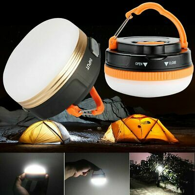 AU17.68 • Buy Portable Rechargeable LED Hiking Camping Tent Lantern Light USB Lamp Outdoor