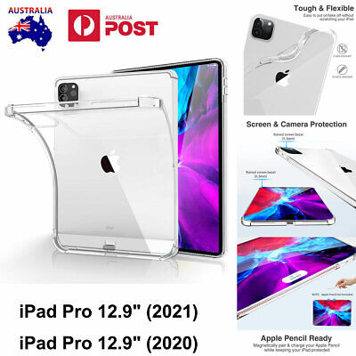 AU18.99 • Buy For IPad Pro 12.9 Clear Case (5th/4th Gen) 2021&2020 Shockproof Heavy Duty Cover