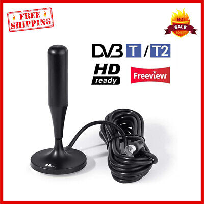 £15.99 • Buy Digital TV Aerial Magnetic Freeview Antenna For Campervan Tent Camping Plug Play