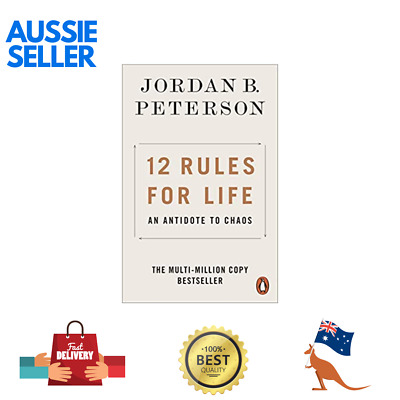 AU14.49 • Buy New 12 Rules For Life 2019 By Jordan B. Peterson Paperback Book | AUS Shipping