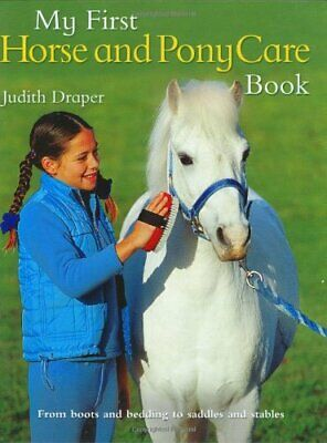 £9.99 • Buy My First Horse And Pony Care Book By Draper, Judith Book The Cheap Fast Free