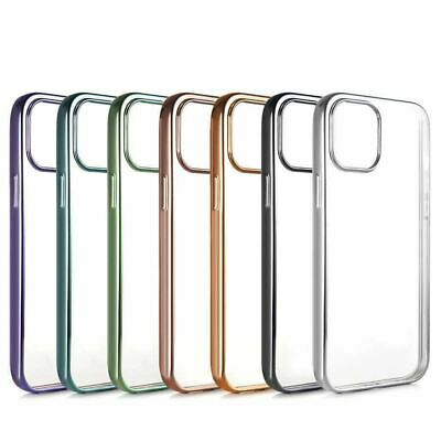 AU3.75 • Buy For IPhone 11 PRO Max XR XS 8 7 6 Case Electroplate Soft Clear Slim Gel Cover