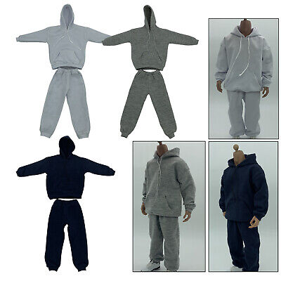 $18.46 • Buy 2x 1:6 Sweatshirt W/ Pants Outfit For Enterbay PH 12'' Action Figure Body