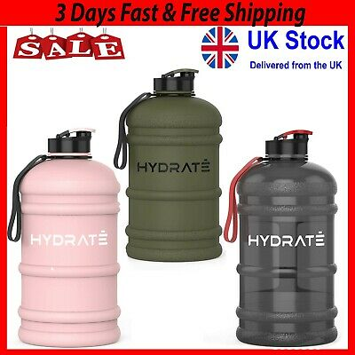 £18.75 • Buy New HYDRATE XL Jug 2.2 Litre Water Bottle - BPA Free, Flip Cap, Ideal For Gym UK