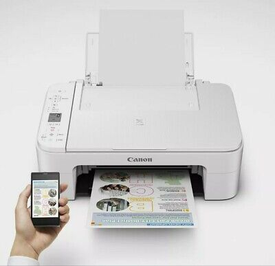View Details Canon PIXMA TS3322 Wireless Inkjet All-In-One Printer  BRAND NEW With Ink  • 65.00$