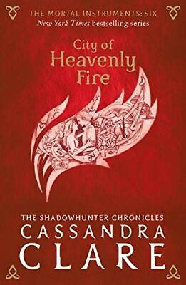 £4.56 • Buy The Mortal Instruments 6: City Of Heavenly Fire, Clare, Cassandra