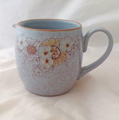 £5.95 • Buy Denby Pottery Reflections Pattern ¼ Pint Milk Jug Made In Stoneware