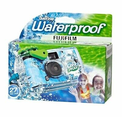 £8.52 • Buy QuickSnap Fujifilm Underwater Water Proof Disposable Camera Single Use 27 Shots